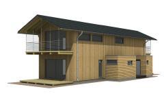 holzverbundhaus oekologisches fertighaus in hochwertiger holztafelbauweise. Black Bedroom Furniture Sets. Home Design Ideas